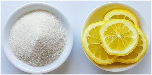 mascarilla de bicarbonato y limon para las manchas