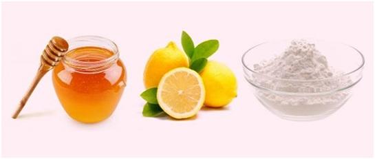 mascarilla de miel bicarbonato y limon para el acne