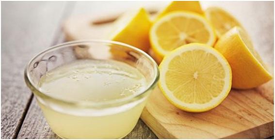 como se hace una mascarilla de limon