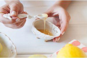 mascarilla con limon y miel