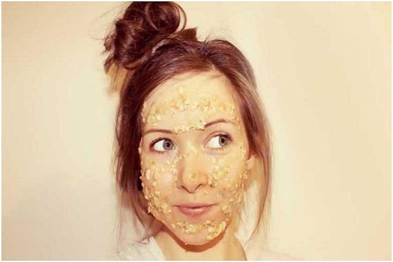 mascarilla de avena miel y limon para el acne