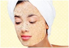 mascarilla de avena y agua para el acne