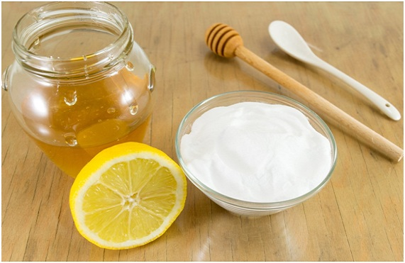 mascarilla de limon miel y bicarbonato