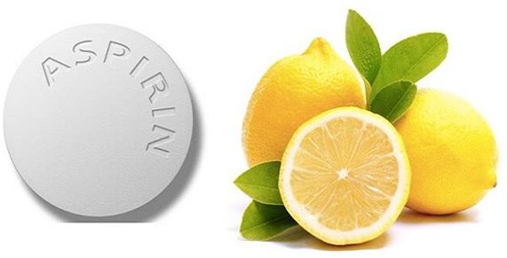 para que sirve la mascarilla de aspirina y limon